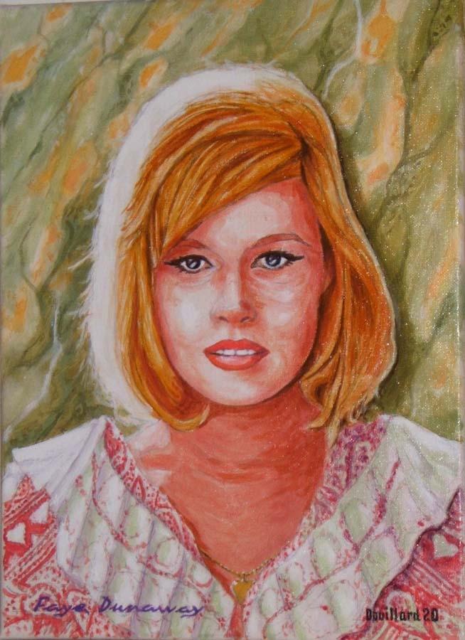 Faye Dunaway by Douillard